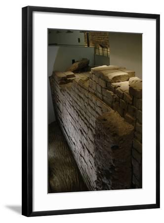 The Temple of Jupiter Optimus Maximus or Temple of Jupiter Capitolinus. 6th Century B.C. Capitoline--Framed Photographic Print