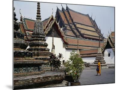 Temple of the Reclining Buddha, Wat Pho, Bangkok, Thailand, 18th Century--Mounted Giclee Print