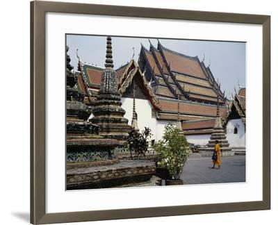 Temple of the Reclining Buddha, Wat Pho, Bangkok, Thailand, 18th Century--Framed Giclee Print