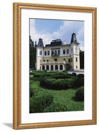 Betliar Manor House, Originally from 15th Century and Renovated in 19th Century, Slovakia--Framed Photographic Print