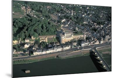 High Angle View of a Castle at the Waterfront, Chateau D'Amboise, Amboise, Centre, France--Mounted Photographic Print