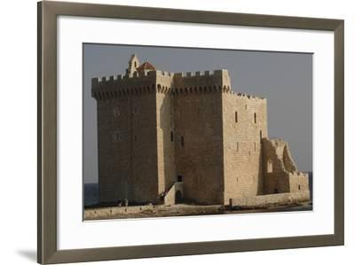 Low Angle View of a Monastery, Lerins, St. Honorat, Provence-Alpes-Cote D'Azur, France--Framed Photographic Print