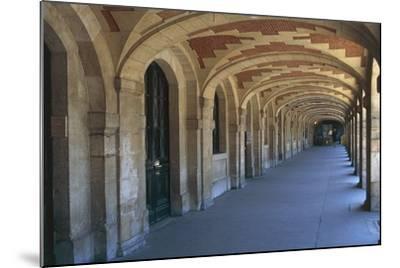 The Place Des Vosges Arcades, 1612, in the Marais District, Paris, Ile-De-France, France--Mounted Photographic Print