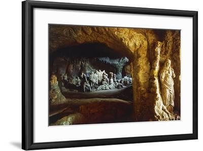 Sculptures in Church of Piedigrotta, 18th-19th Century, Pizzo Calabro, Calabria, Italy--Framed Photographic Print