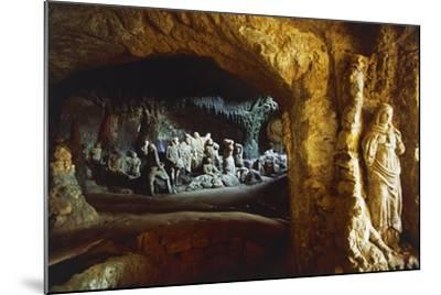 Sculptures in Church of Piedigrotta, 18th-19th Century, Pizzo Calabro, Calabria, Italy--Mounted Photographic Print