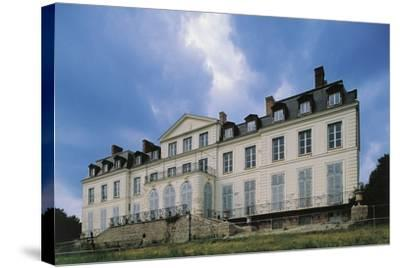 Southern Facade of Chateau of Sainte-Assise, 18th Century, Seine-Port, Ile-De-France, France--Stretched Canvas Print