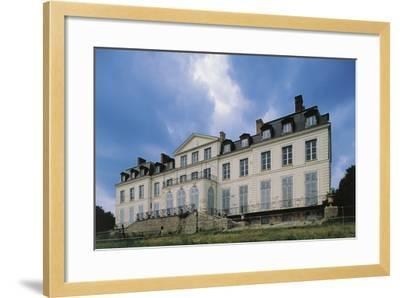 Southern Facade of Chateau of Sainte-Assise, 18th Century, Seine-Port, Ile-De-France, France--Framed Photographic Print