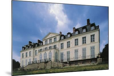 Southern Facade of Chateau of Sainte-Assise, 18th Century, Seine-Port, Ile-De-France, France--Mounted Photographic Print
