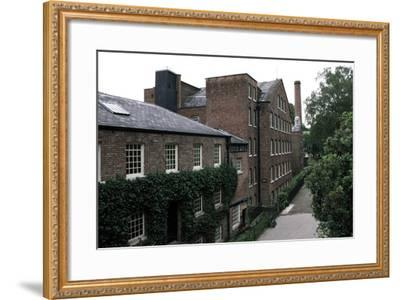 Quarry Bank Mill (19th Century), Textile Manufacturer, Styal, England, United Kingdom--Framed Photographic Print