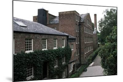 Quarry Bank Mill (19th Century), Textile Manufacturer, Styal, England, United Kingdom--Mounted Photographic Print