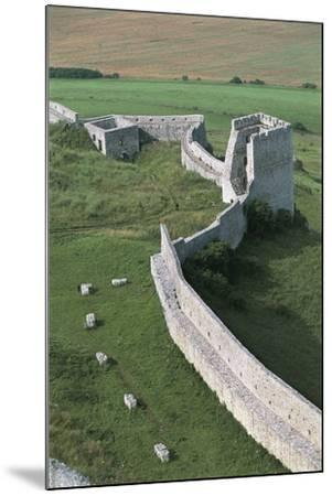 High Angle View of Old Ruins of a Castle, Spis Castle, Spisska Nova Ves, Slovakia--Mounted Photographic Print