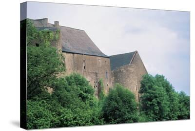 Chateau Di Roussy-Comte and Roussy-Seigneurie, Roussy-Le-Village, Lorraine, France--Stretched Canvas Print