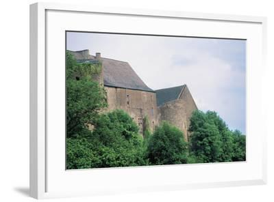 Chateau Di Roussy-Comte and Roussy-Seigneurie, Roussy-Le-Village, Lorraine, France--Framed Photographic Print