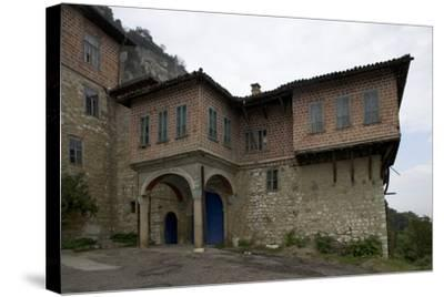 The Transfiguration Monastery (Preobrazenski Manastir), Ca 1850, Near Veliko Tarnovo, Bulgaria--Stretched Canvas Print