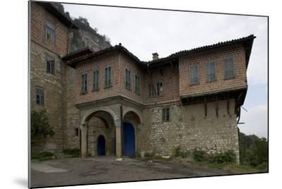 The Transfiguration Monastery (Preobrazenski Manastir), Ca 1850, Near Veliko Tarnovo, Bulgaria--Mounted Photographic Print