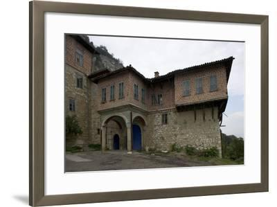 The Transfiguration Monastery (Preobrazenski Manastir), Ca 1850, Near Veliko Tarnovo, Bulgaria--Framed Photographic Print