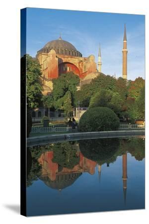 Hagia Sophia, 6th-16th Century, Istanbul (Unesco World Heritage List, 1985), Turkey--Stretched Canvas Print