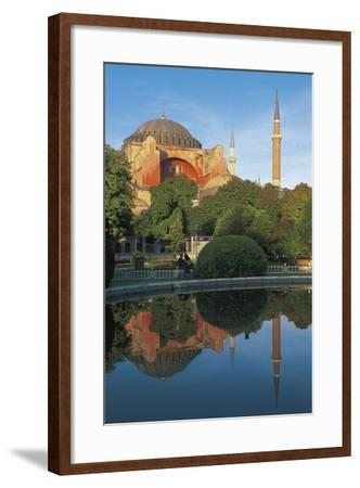 Hagia Sophia, 6th-16th Century, Istanbul (Unesco World Heritage List, 1985), Turkey--Framed Photographic Print