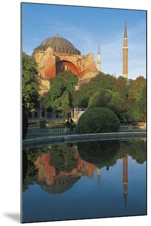 Hagia Sophia, 6th-16th Century, Istanbul (Unesco World Heritage List, 1985), Turkey--Mounted Photographic Print