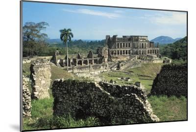 Sans-Souci Palace, 1810-1813, Milot (Unesco World Heritage List, 1982), Nord Department, Haiti--Mounted Photographic Print