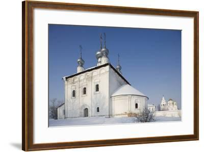 Church Within the Convent of the Intercession, Founded in 1364, Suzdal, Golden Ring, Russia--Framed Photographic Print