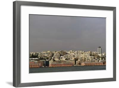 Turkey. Istanbul. Panoramic of District of Beyoglu, on the European Side of City--Framed Photographic Print