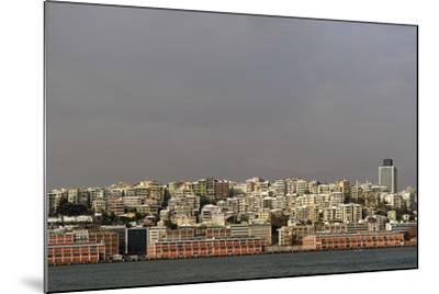 Turkey. Istanbul. Panoramic of District of Beyoglu, on the European Side of City--Mounted Photographic Print