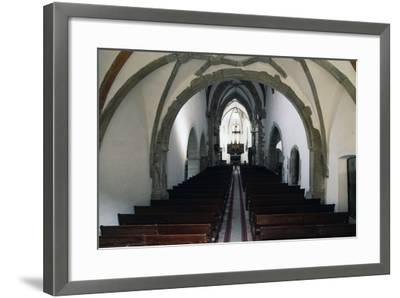 Nave of Prejmer Fortified Church, 15th Century, Late Gothic Style, Romania--Framed Photographic Print