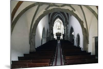 Nave of Prejmer Fortified Church, 15th Century, Late Gothic Style, Romania--Mounted Photographic Print