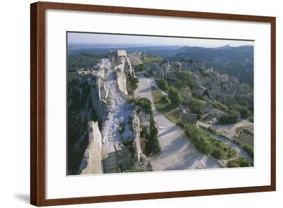 Ruins of Les Baux-De-Provence Castle, Provence-Alpes-Cote D'Azur, France--Framed Photographic Print