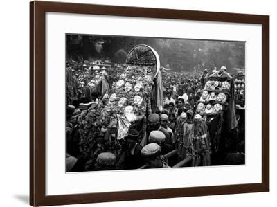Procession of Gods on Kulu Dassera Festival, Himachal Pradesh India, 1982--Framed Photographic Print