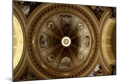Ceiling of Cathedral of St Eusebius, Vercelli Cathedral, Piedmont, Italy--Mounted Photographic Print