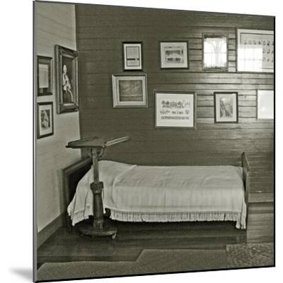 Robert Louis Stevenson's Sickbed with Writing Stand, Villa Vailima, Apia, Samoa--Mounted Photographic Print