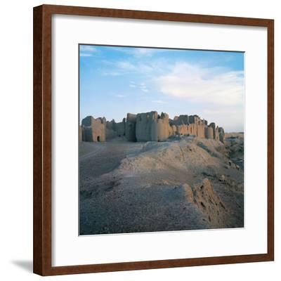 Fortress of Bost (Qala-E-Bost), 11th Century, Lashkar Gah, Helmand, Afghanistan--Framed Photographic Print