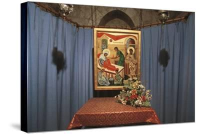 Crypt of St Anne's Church, Jerusalem, Israel (Donated by France in 1965)--Stretched Canvas Print