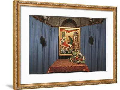 Crypt of St Anne's Church, Jerusalem, Israel (Donated by France in 1965)--Framed Photographic Print