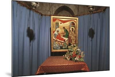 Crypt of St Anne's Church, Jerusalem, Israel (Donated by France in 1965)--Mounted Photographic Print