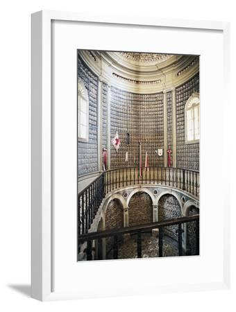 Ossuary (1880) in the Church of St Peter in Vincoli, Solferino, Lombardy, Italy--Framed Photographic Print