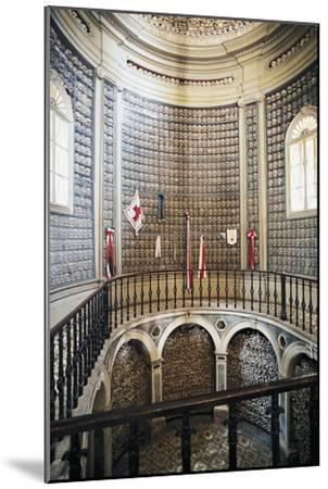 Ossuary (1880) in the Church of St Peter in Vincoli, Solferino, Lombardy, Italy--Mounted Photographic Print