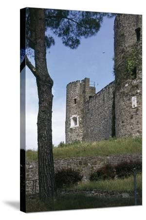 View of Gorizia Castle, 11th Century, Gorizia, Friuli-Venezia Giulia, Italy--Stretched Canvas Print