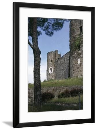 View of Gorizia Castle, 11th Century, Gorizia, Friuli-Venezia Giulia, Italy--Framed Photographic Print