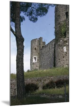 View of Gorizia Castle, 11th Century, Gorizia, Friuli-Venezia Giulia, Italy--Mounted Photographic Print