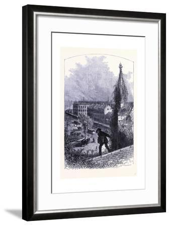 Mainstreet in Buffalo United States of America--Framed Giclee Print