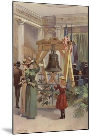 Old Liberty Bell--Mounted Giclee Print