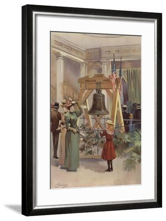 Old Liberty Bell--Framed Giclee Print