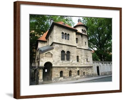 Czech Republic. Prague. Jewish Ceremonial Hall. 1911-12. Originally Used as a Ceremonial Hall and M--Framed Photographic Print