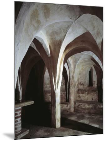 Crypt of a Church, Basilica of St. Michael, Oleggio, Piedmont Region, Italy--Mounted Photographic Print