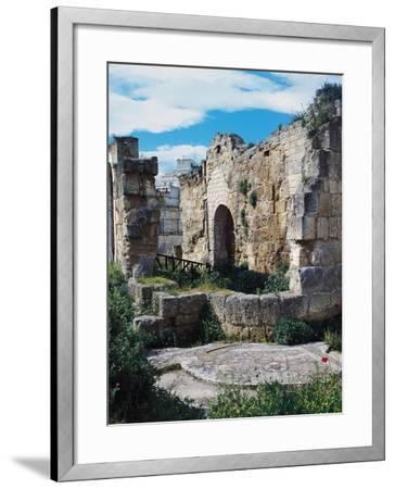 Ruins of Baptistery of San Giovanni, 4th-5th Century, Canosa, Apulia, Italy--Framed Photographic Print