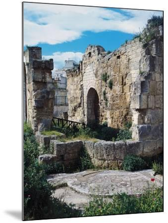 Ruins of Baptistery of San Giovanni, 4th-5th Century, Canosa, Apulia, Italy--Mounted Photographic Print