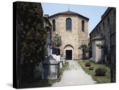 Baptistery of the Basilica of St Euphemia, Late 5th Century, Grado, Friuli-Venezia Giulia, Italy--Stretched Canvas Print